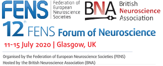 12th FENS Forum of Neuroscience, Glasgow 2020