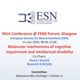 FENS 2020 - ESN Mini Conference on Neuroscience